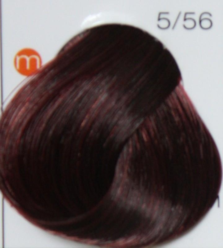 LONDA PROFESSIONAL 5/56 Краска для волос LC NEW инт.тонирование micro reds светлый шатен красно-фиолетовый, 60мл