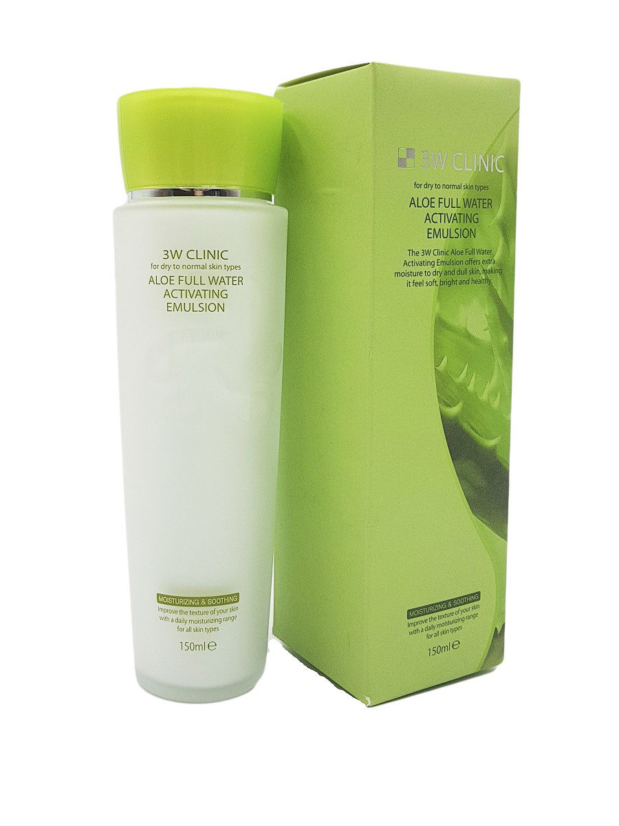 Купить 3W CLINIC Эмульсия для лица с алоэ / Aloe Full Water 150 мл