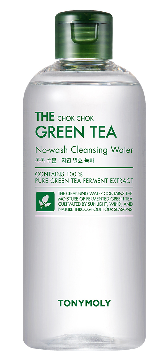 TONY MOLY Вода очищающая / The Chok Chok Green Tea Cleansing Water 300 мл - Термальная вода