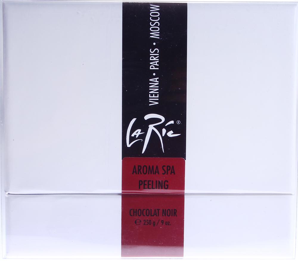 LA RIC Пилинг для рук, ног и всего тела Черный шоколад / AROMA SPA-LUXUS 250гр