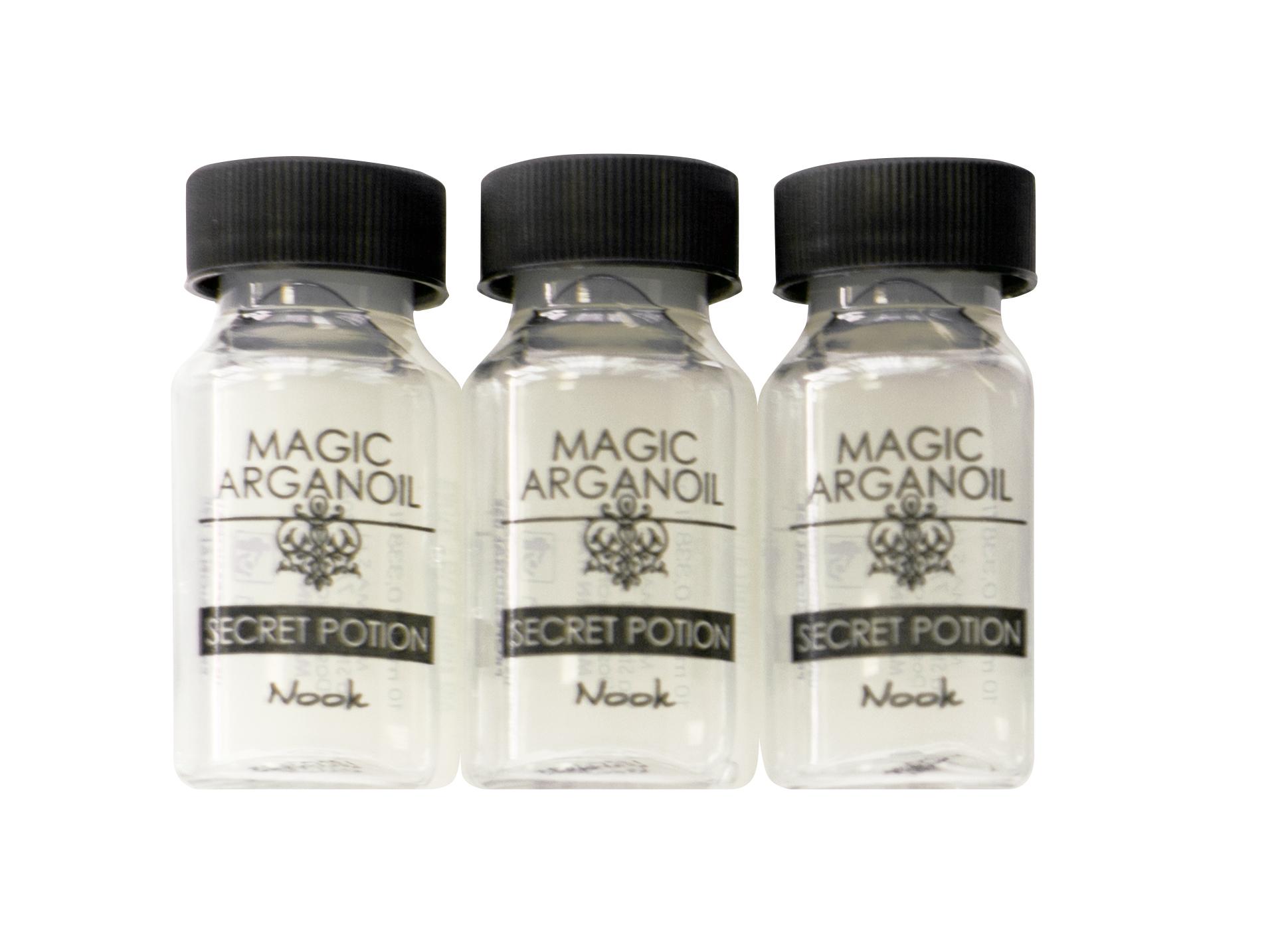 NOOK Уход интенсивный Секретное снадобье с маслом арганы и кератином / MAGIC ARGANOIL 9*10 мл уход guam upker kolor 9 0 цвет очень светлый блонд интенсивный 9 0 variant hex name c29f60