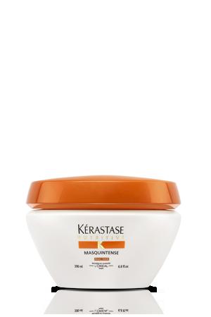 KERASTASE Маска для сухих и очень чувствительных волос Маскинтенс / NUTRITIVE IRISOME 200млМаски<br>Маска Masquintense - концентрированный питающий уход , обеспечивающий легкость и глубокое питание, для сухих волос.   Kerastase Nutritive Маска Masquintense: &amp;bull; Преображает волосы, делая их более сильными, шелковистыми и эластичными.   Для волос, нуждающихся в более глубоком питании.   Комплекс Irisome, действуя внутри волокна волоса и на его поверхности, заполняет все поврежденные и пересушенные участки волоса. Экстракт корня ириса (антиоксидант) продлевает эффект, защищая волос от окислительных процессов. Активыные ингредиенты:   Комплекс Irisome &amp;ndash; сочетание необходимых питательных веществ(липиды, глюциды и протеины), восстанавливающих структуру волоса. Долговременное питание, благодаря антиоксиданту из корня Ириса.   Более высокая концентрация Комплекса Irisome, чем в молочке Vital.   Сбалансированный состав по липидным веществам.  Способ применения: Наносить на отжатые полотенцем волосы по длине и на кончики, избегая прикорневой зоны. Убедитесь в том, что продукт нанесен на те зоны, где волосы более всего нуждаются в питании. Оставить для воздействия на 5 минут. Тщательно смойте.<br>