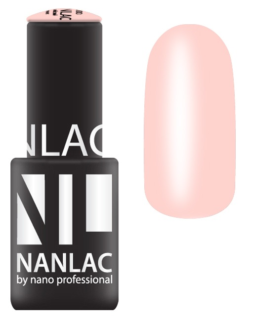 NANO PROFESSIONAL 2104 гель-лак для ногтей, колесо Фортуны / NANLAC 6 мл