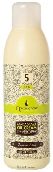 MACADAMIA Natural Oil Окислитель 1.5% / Developer MACADAMIA COLORS 1000мл