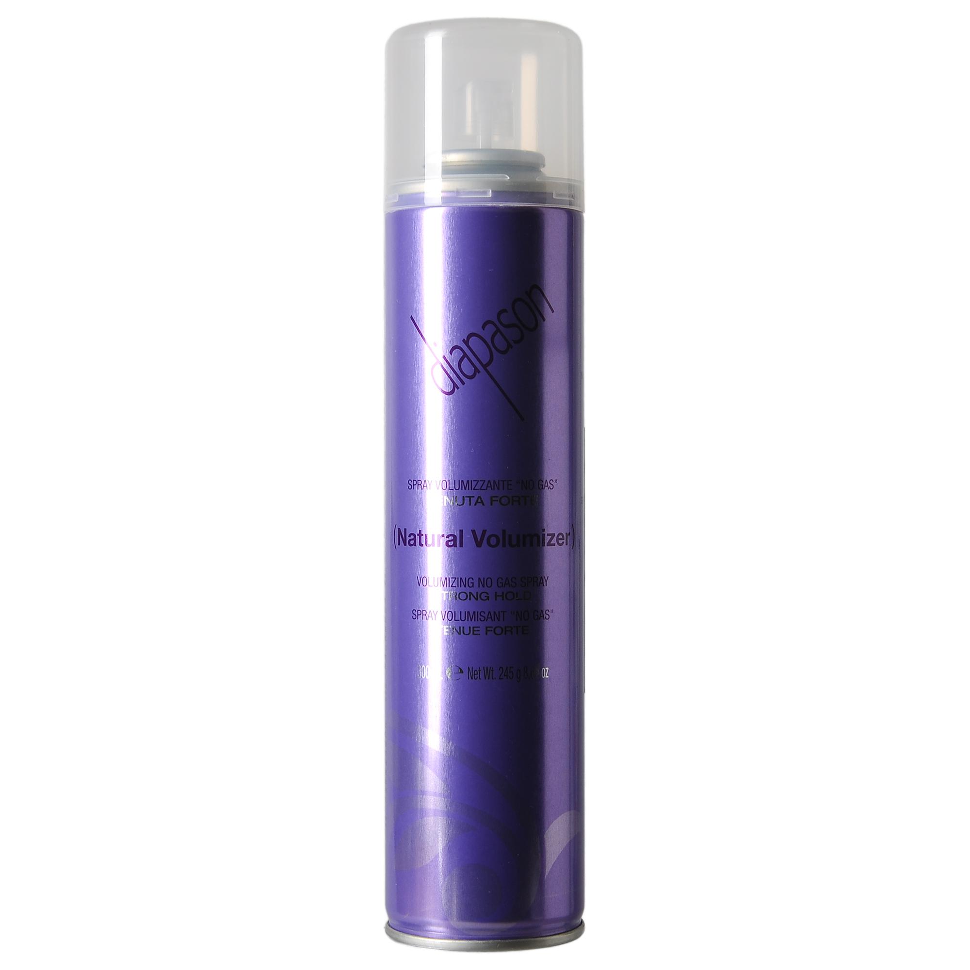 LISAP MILANO Лак профессиональный для волос без газа сильной фиксации / Diapason Volumizing no Gas Strong 300мл