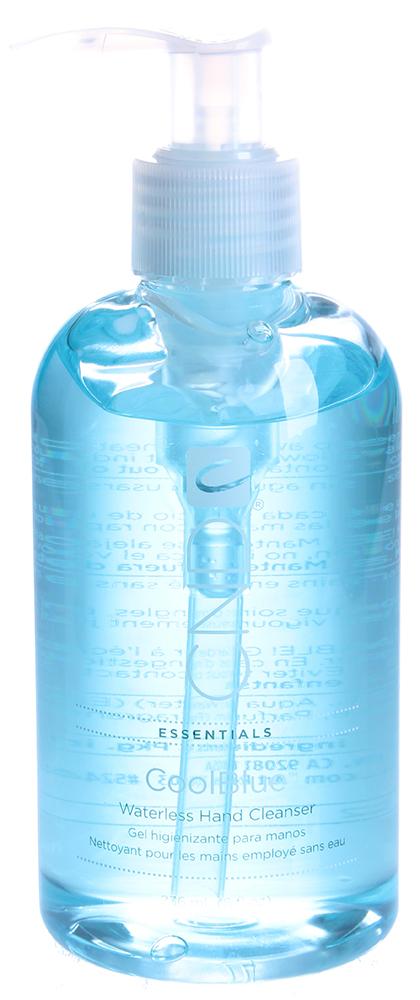 CND Средство дезинфицирующее для рук / Cool Blue 237млОсобые средства<br>Дезинфектор для рук, служащий для одношаговой санитарной обработки, не требует последующего мытья рук. Убивает бактерии, вирусы гриппа, стафилококковые и стрептококковые инфекции, смягчает и увлажняет кожу. Используется перед проведением процедуры маникюра, педикюра, моделирования и дизайна ногтей.<br><br>Объем: 237<br>Вид средства для тела: Антисептический