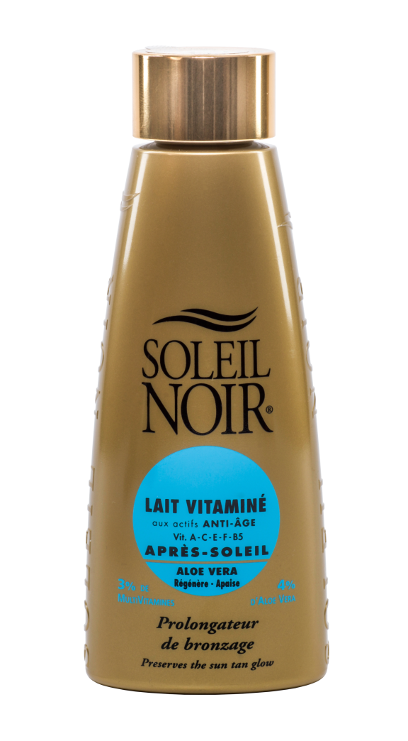 "SOLEIL NOIR Молочко антивозрастное витамин. после солнца ""Продление загара"" SPF4 / LAIT VITAMINE 150мл"