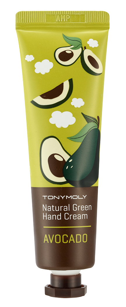TONYMOLY Крем для рук / Natural Green Hand Cream Avocado 30 мл