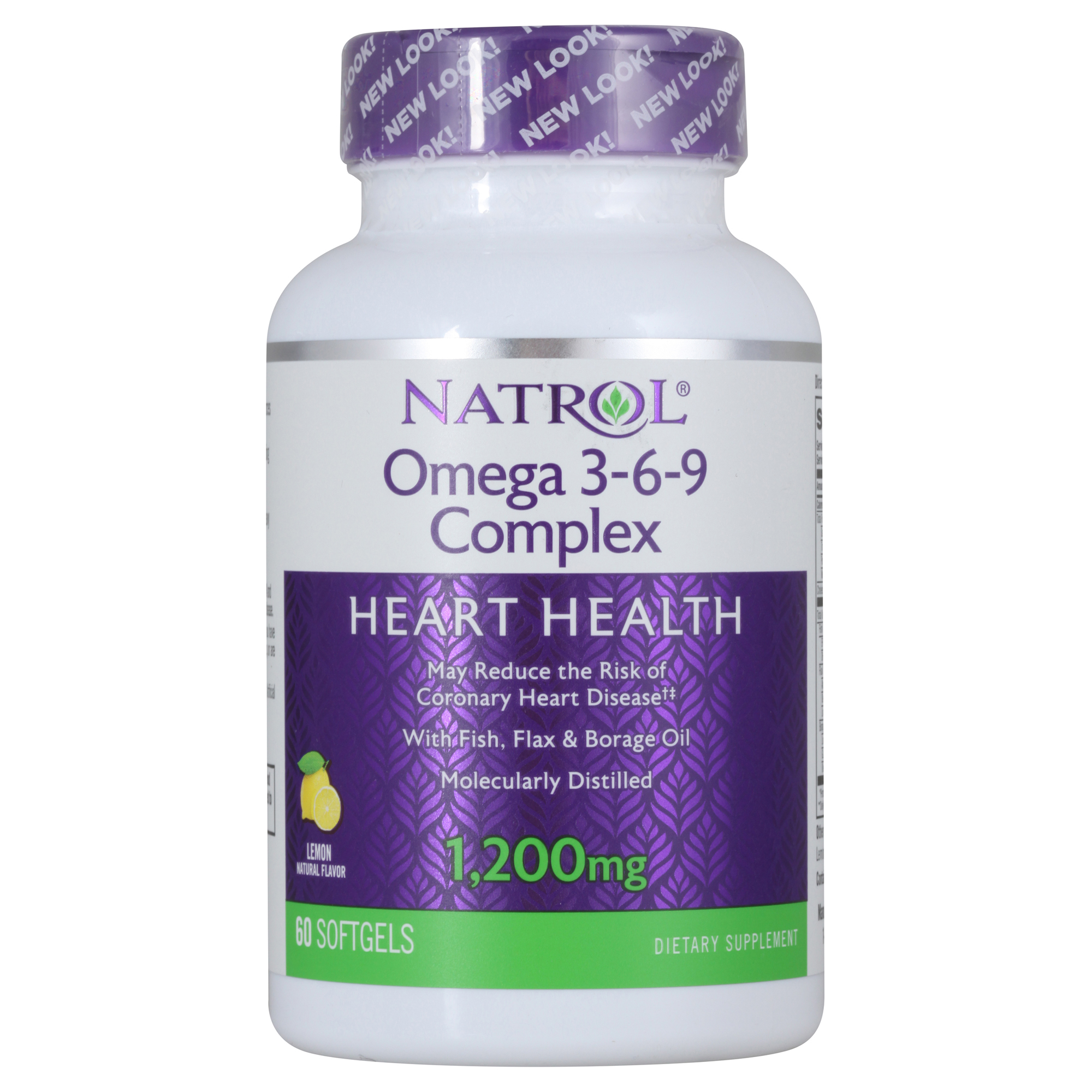 Купить NATROL Добавка биологически активная к пище Натрол омега 3-6-9 комплекс / Omega 3-6-9 Complex 60 капсул