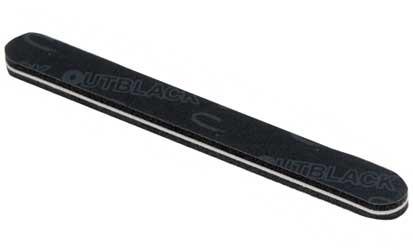 CND Пилка моющаяся для искусственных ногтей The Outblack 120/240 cnd пилка для акрилата boomerang грубая 100 100