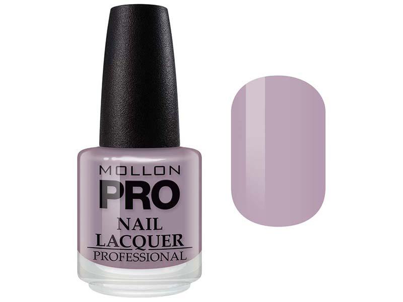 MOLLON PRO Лак для ногтей с закрепителем / Hardening Nail Lacquer  208 15млЛаки<br>Профессиональный лак для ногтей с усиленным блеском.&amp;nbsp;Яркий, соблазнительный и удобный в применении лак, созданный по безопасной формуле Save and Care, не содержит дибутилфталата, толуола, формальдегида и надолго сохраняет эстетический вид.&amp;nbsp;Входящая в состав лака специальная формула с содержанием кальция, фосфора и цинка оказывает восстанавливающую, ухаживающую и защитную функцию для ногтей. Профессиональная кисточка великолепно распределяет лак на ногтевой пластинке, не оставляя разводов. Способ применения: чтобы продлить стойкость стилизации, необходимо применить Base Coat Nail Repair перед нанесением лака, затем 2 слоя Nail Lacquer и Top Coat Quick Dryer.<br><br>Цвет: Фиолетовые