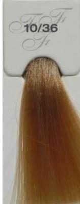 LISAP MILANO 10/36 краска для волос / ESCALATION NOW COLOR 75млКраски и корректоры<br>10/36 очень светлый блондин золотисто-медный Специалисты исследовательской лаборатории LISAP каждый день занимаются будущим, с целью уже сегодня сделать инновационные технологии реальностью. Это стремление послужило началом разработок, оказавшим большое влияние на процесс совершенствования профессиональных продуктов для окрашивания волос. Другими словами, специалисты лаборатории работают над тем, чтобы продукты Lisap всегда опережали время. ESCALATION NOW COLOR – крем-краска для волос нового поколения с низким содержанием аммиака (до 1 %), создана на базе инновационной технологии «5 Phase Fusion System» из области искусственного интеллекта специалистами исследовательской лаборатории LISAP, в которой используется определенная последовательность 5 микросистем, дополняющих и доводящих до совершенства макропроцесс окраски волос. Инновационная система «5 Phase Fusion System» определяет тип и состояние окрашиваемых волос и самостоятельно регулирует интенсивность и силу проникновения внутрь структуры волоса. Уникальная формула, обогащенная маслом ши и пшеничными протеинами, защищает кожу головы и превосходно ухаживает за волосами во время окрашивания. Активные ингредиенты: масло ши, пшеничные протеины. Способ применения: пропорция смешивания: 100мл красителя разводиться с DEVELOPER в пропорции 1:1,5. 75 мл оттенки 10 и 11 ряда осветления разводятся в пропорции 1:2,5.<br>