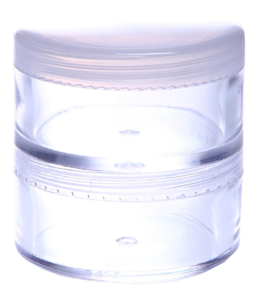 RFbeauty Баночка 30+30мл СМ23Баночки<br>Двойная прозрачная пластиковая баночка с завинчивающейся крышкой, предназначена для хранения косметических средств.<br>