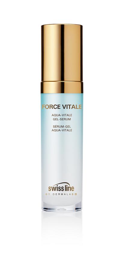 SWISS LINE Гель-сыворотка освежающая увлажняющая для лица Живая вода / FORCE VITALE 30 мл -  Сыворотки