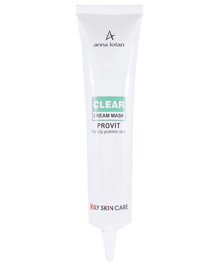 "ANNA LOTAN Крем-маска для жирной проблемной кожи ""Провит"" / Provit Cream Mask CLEAR 40мл"