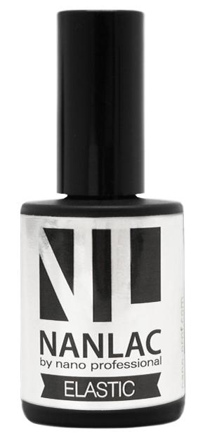 NANO PROFESSIONAL Гель-лак базовый для ногтей / NANLAC Elastiс 15 мл