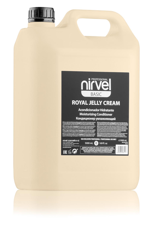 Купить NIRVEL PROFESSIONAL Кондиционер увлажняющий с пчелиным маточным молочком для окрашенных волос / ROYAL JELLY CREAM 5000 мл