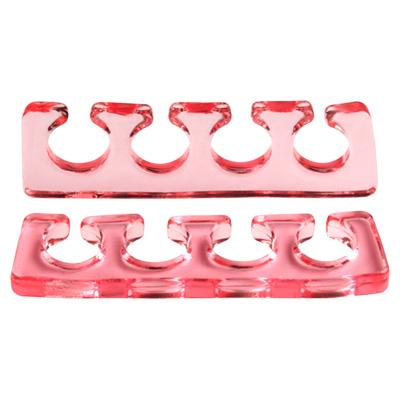IRISK PROFESSIONAL Расширитель силиконовый для пальцев, 07 прозрачно-красный 2 шт