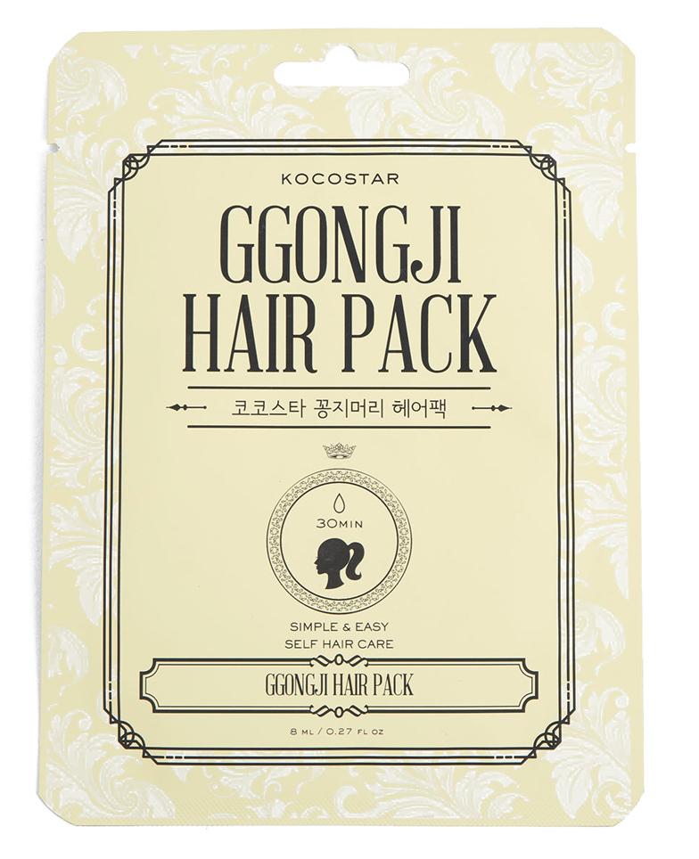 KOCOSTAR Маска восстанавливающая для поврежденных волос Конский хвост / GGONG JI HAIR PACK 8 мл high quality folium eriobotryae extract loquat leaf p e