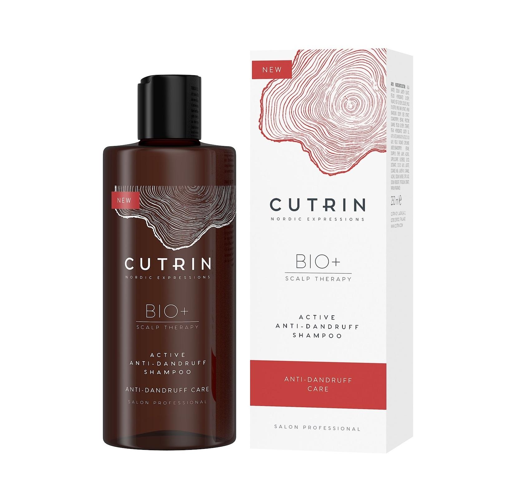 Купить CUTRIN Шампунь против перхоти / BIO+ ACTIVE 250 мл
