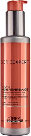 LOREAL PROFESSIONNEL Сыворотка-гель ночная против ломкости волос / ИНФОРСЕР 150мл
