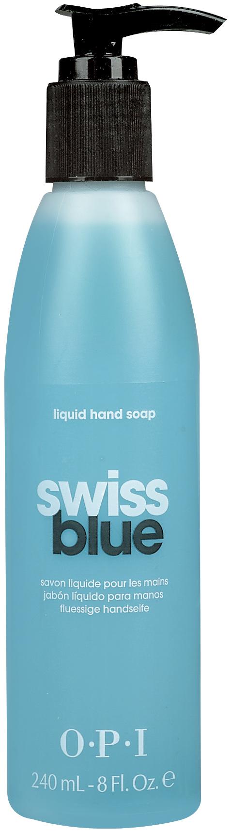 OPI Мыло для рук / Swiss Blue 240мл opi лосьон для рук и тела opi avoplex moisture replenishing lotion av711 30 мл