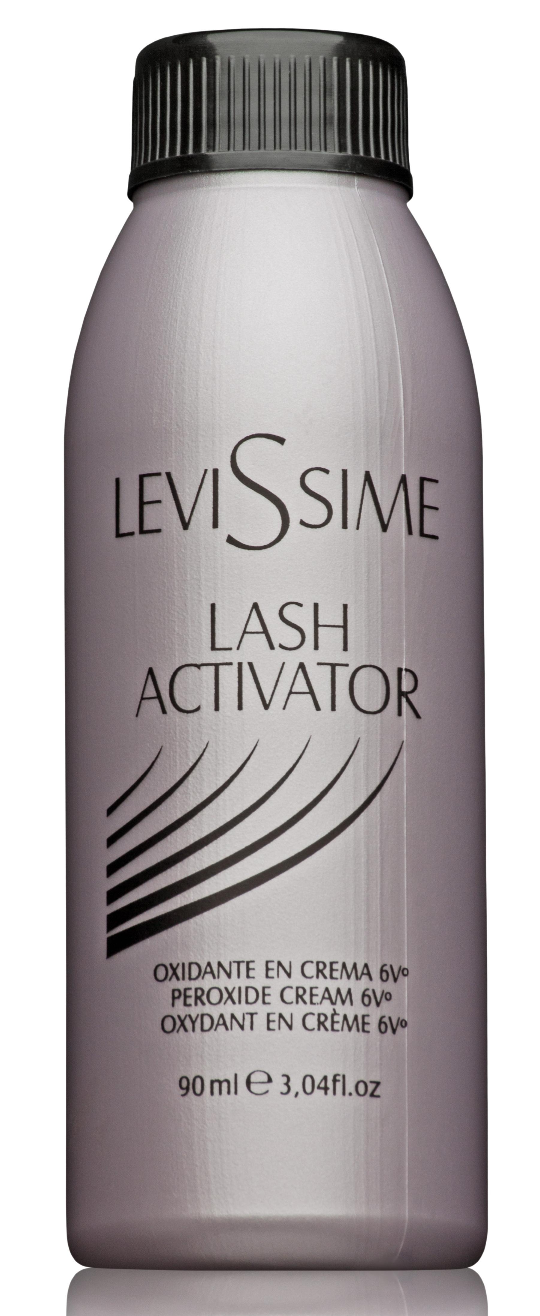 LEVISSIME Оксидант для разведения краски для бровей и ресниц / Lash Activator 6V 1,8% 90 мл -  Краски для бровей