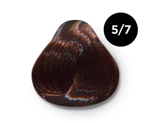 Купить OLLIN PROFESSIONAL 5/7 краска для волос, светлый шатен коричневый / OLLIN COLOR 100 мл