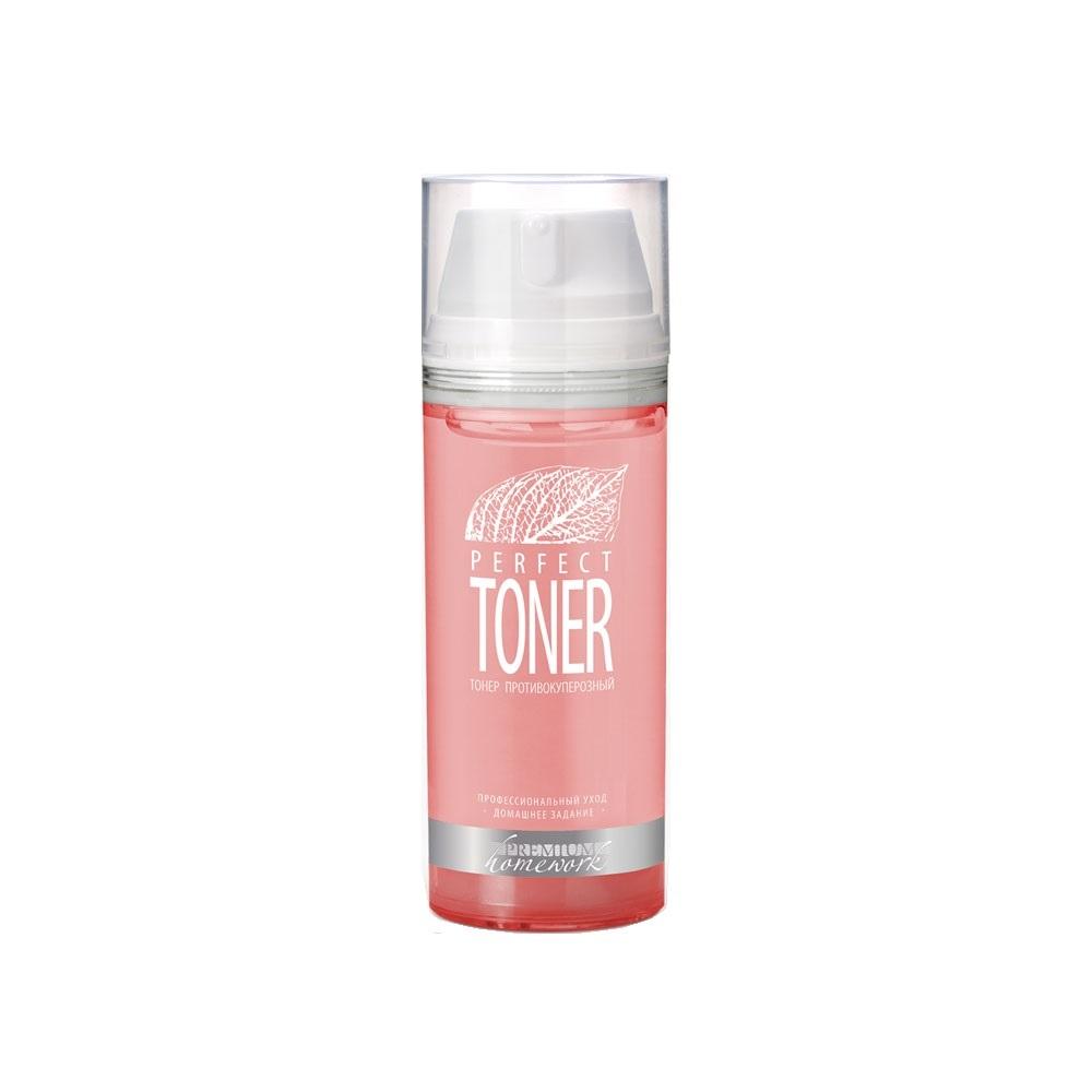 PREMIUM Тонер противокуперозный для лица / Homework Perfect Toner 155 мл фото