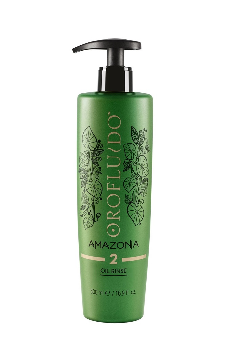Купить OROFLUIDO Шампунь очищающий на основе масла, шаг № 2 / Amazonia Rinse Oil 500 мл