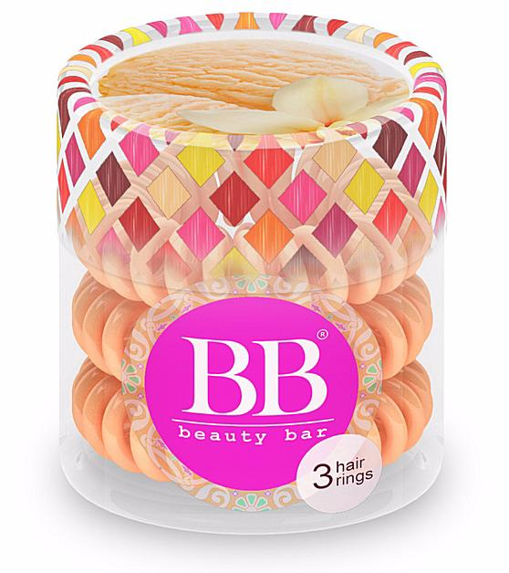 BEAUTY BAR Резинка для волос Beauty Bar / Бежевый