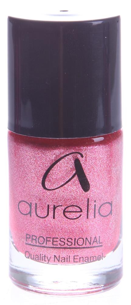 AURELIA 907 лак для ногтей / PROFESSIONAL 13млЛаки<br>Aurelia Professional &amp;mdash; лаки профессионального качества и эксклюзивных цветов на основе инновационных пигментов последнего поколения, часто обновляемые в соответствии с модными тенденциями сезона. Способ применения: Нанесите лак для ногтей, равномерно распределив по всей ногтевой пластине. Лак можно наносить на чистые ногти, но для более стойкого эффекта рекомендуется использовать базовое и верхнее покрытия.<br><br>Цвет: Красные<br>Виды лака: С блестками
