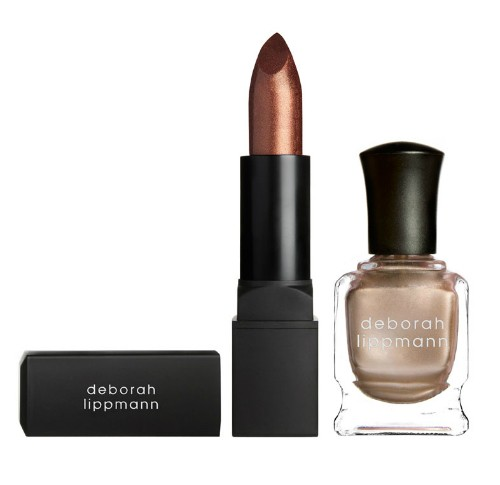 DEBORAH LIPPMANN Набор лак и помада Puttin on the Ritz