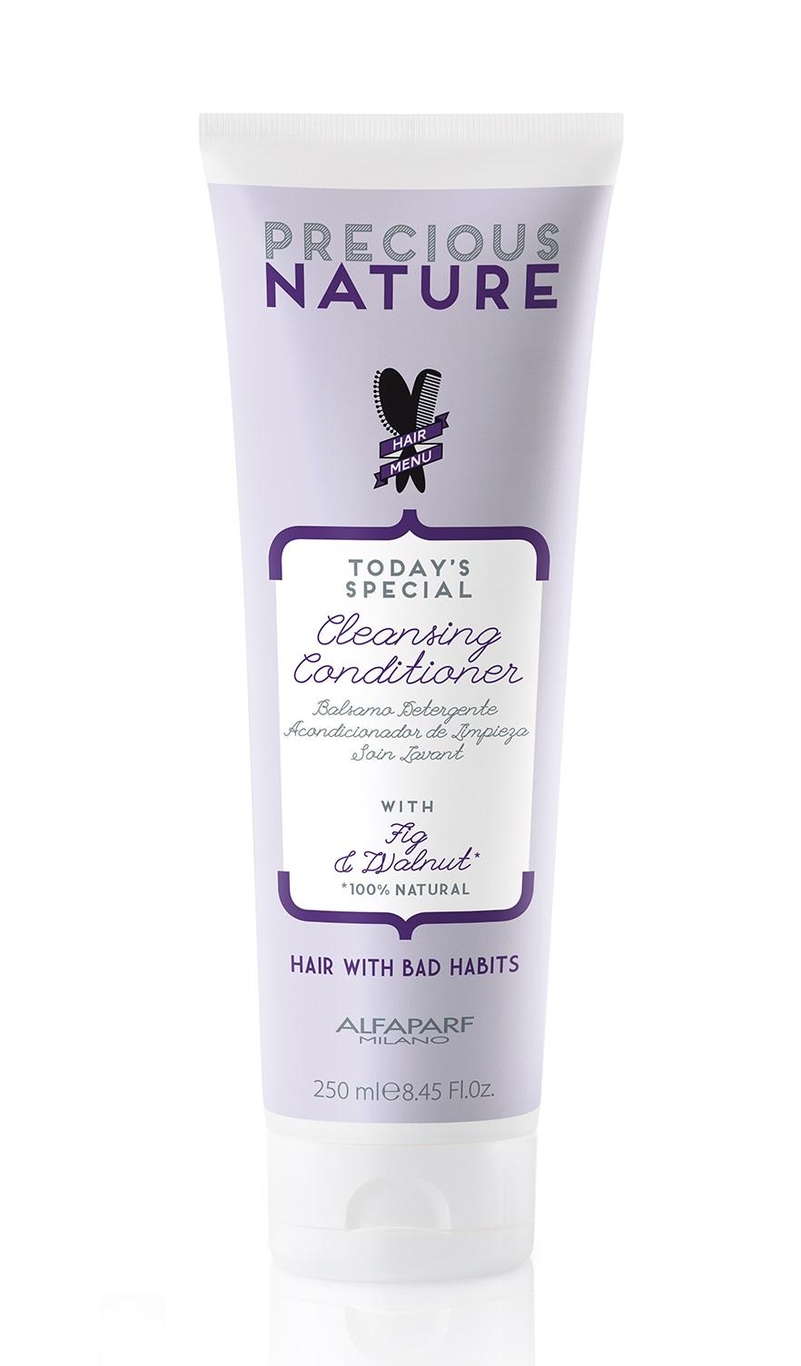 Купить ALFAPARF MILANO Кондиционер очищающий для волос с вредными привычками / PRECIOUS NATURE BAD HAIR HABITS CLEANSING CONDITIONER 250 мл