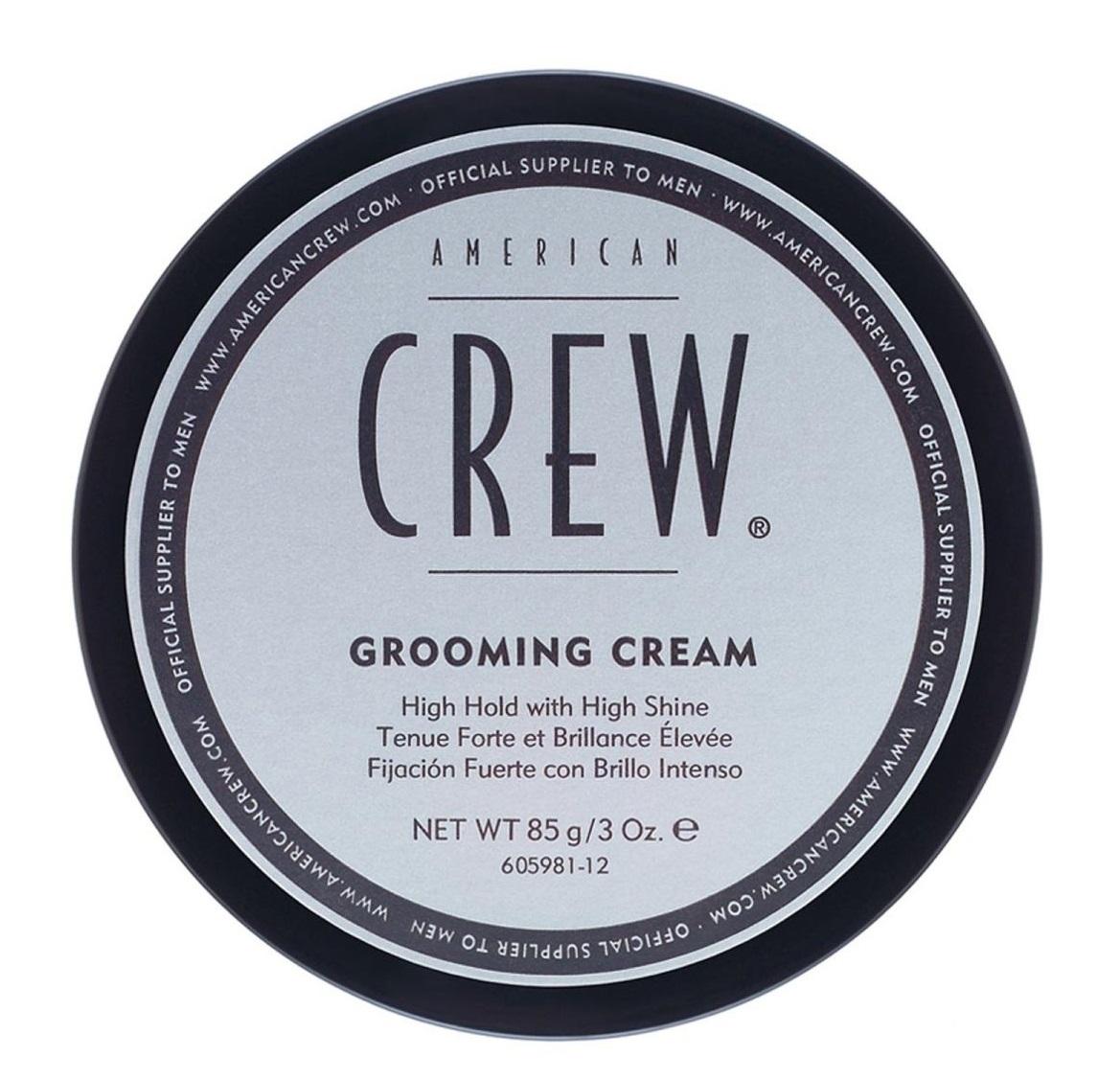 AMERICAN CREW Крем с сильной фиксацией и высоким уровнем блеска для укладки волос и усов, для мужчин / Grooming Cream 85 г