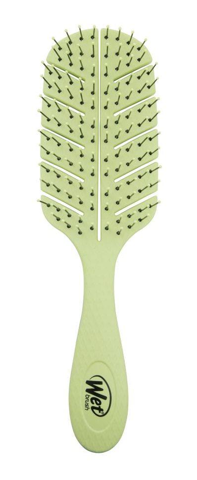Купить Wet Brush Щетка экологически чистая для спутанных волос, зеленая / WET BRUSH Go Green Detangler