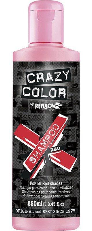 CRAZY COLOR Шампунь для всех оттенков красного / Vibrant Color Shampoo - Red, 250 мл