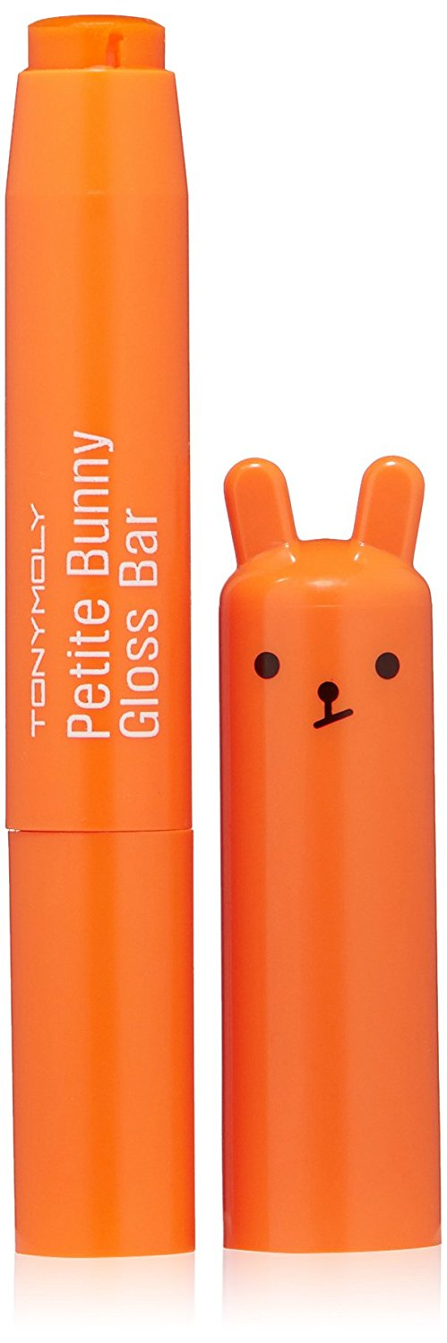 TONY MOLY Блеск для губ / Petit Bunny Gloss Bar 07 Neon Orange 2 г бальзам для губ tony moly tony moly to047lwokh79