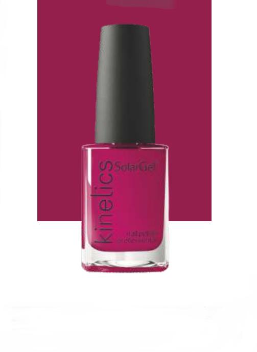 KINETICS 384 лак профессиональный для ногтей / SolarGel Polish 15 мл, Красные  - Купить