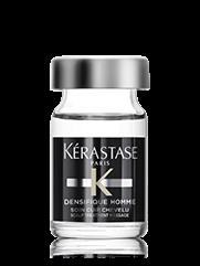 KERASTASE Активатор густоты и плотности волос для мужчин / DENSIFIQUE 6млВолосы<br>мгновенное уплотнение материи волос.   доказанное увеличение густоты волос через 3 месяца применения*. *Клиническое тестирование: 101 человек по сравнению с плацебо. Ежедневное применение в течение 3 месяцев. Активные ингредиенты: STEMOXYDINE  5%: уход, увеличивающий густоту волос. Стемоксидин является запатентованной молекулой в высокой концентрации: 5%. В сочетании с комплексом гликанов и текстурирующим полимером, уход на основе стемоксидина делает волосы визуально более плотными и густыми . Способ применения: наносить 1 ампулу на корни сухих или отжатых полотенцем волос ежедневно в течение 3 месяцев. Снимите крышечку с ампулы. Закрепите аппликатор на ампуле. Надавите на аппликатор для распределения ухода по коже головы. Нанесите по проборам в направлении роста волос. Помассируйте кожу головы круговыми движениями для равномерного распределения и более глубокого проникновения. Не смывать.<br><br>Пол: Мужской