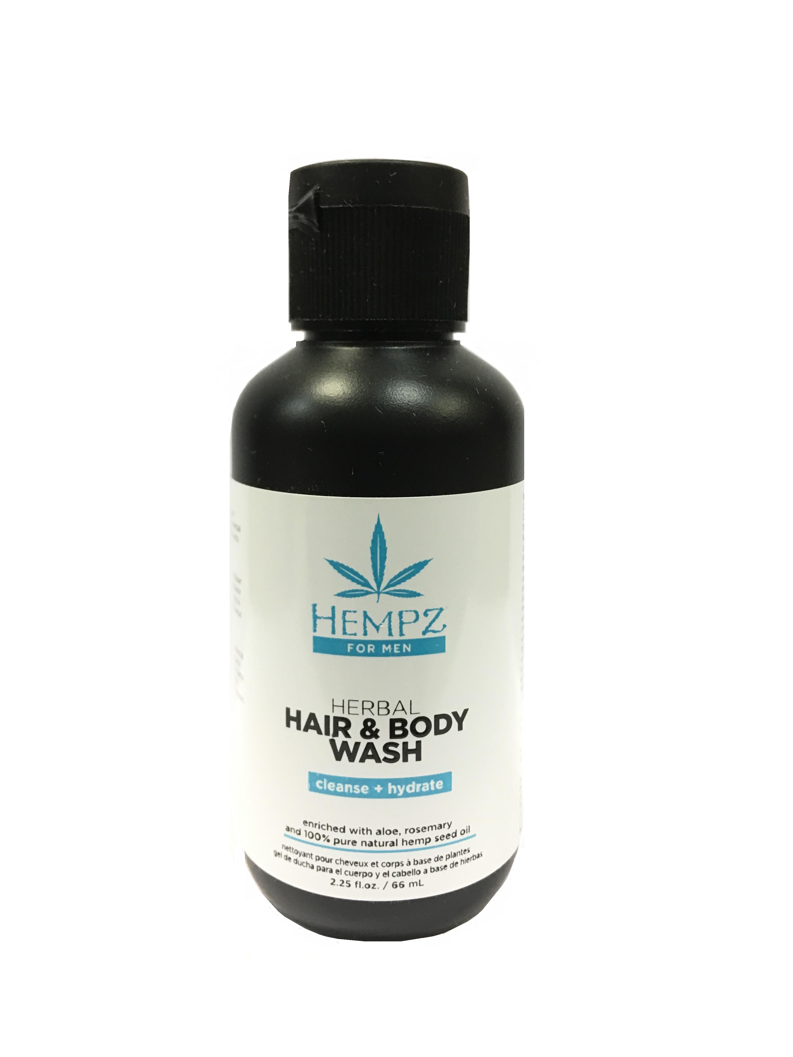 HEMPZ Шампунь мужской для волос и тела / For Men Hair and body wash 66 мл