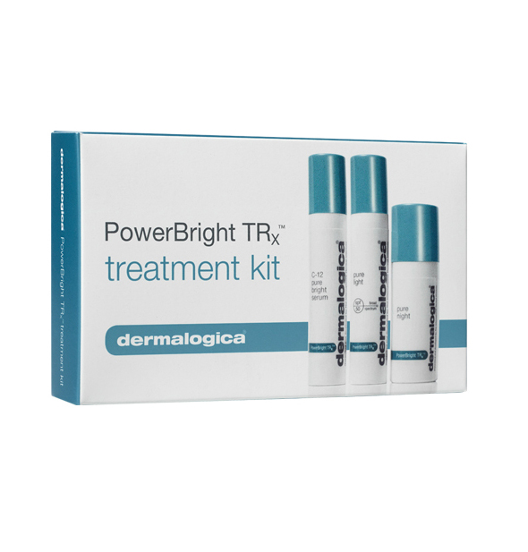 DERMALOGICA Набор для ровного цвета и сияния кожи лица (сыворотка, увлажнитель, крем) / Power Bright Trx