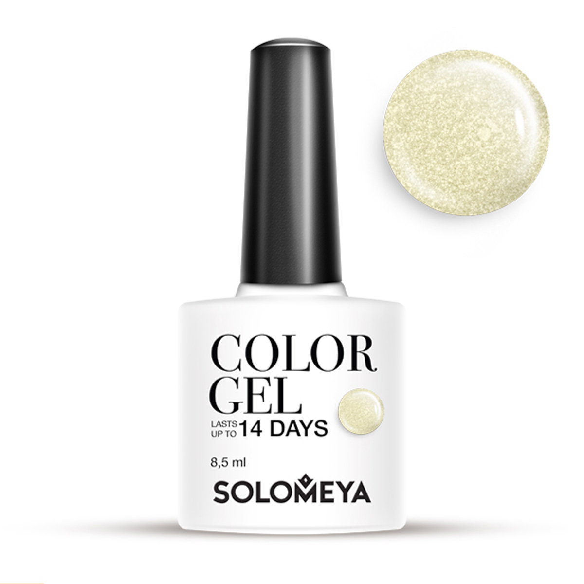 SOLOMEYA Гель-лак для ногтей SCG103 Селия / Color Gel Celia 8,5мл гель лаки solomeya гель лак color gel тон celia scg103 селия