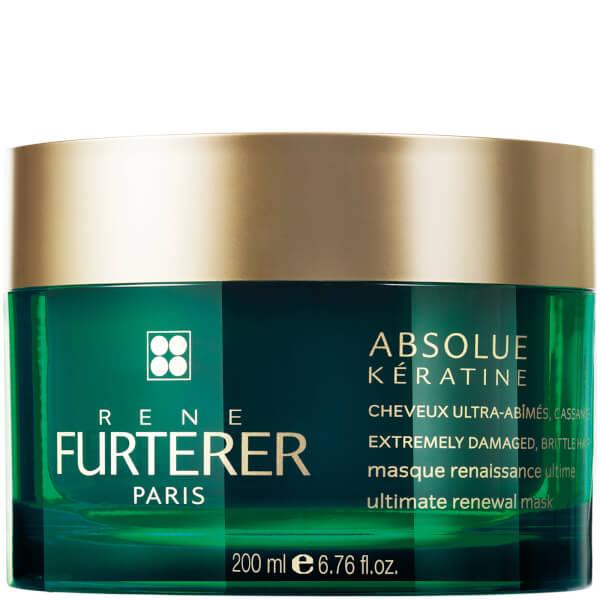 RENE FURTERER Маска интенсивно-восстанавливающая для сильно поврежденных, ломких волос / Absolue Keratine 200мл