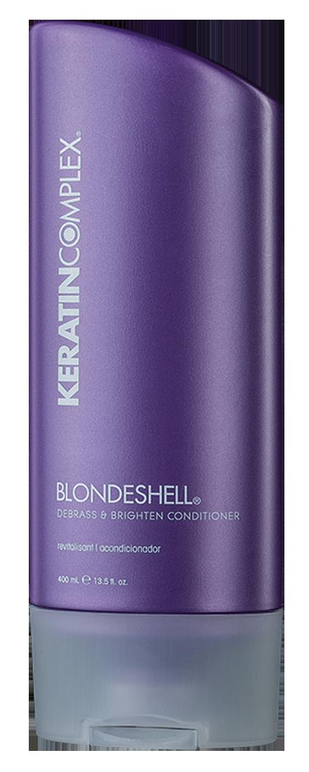 KERATIN COMPLEX Кондиционер корректирующий для осветленных и седых волос 400 мл