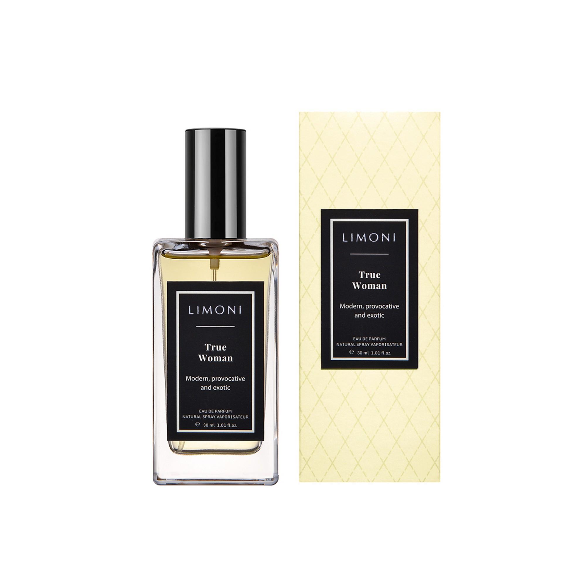 LIMONI Вода парфюмерная / True Woman Eau de Parfum 30 мл