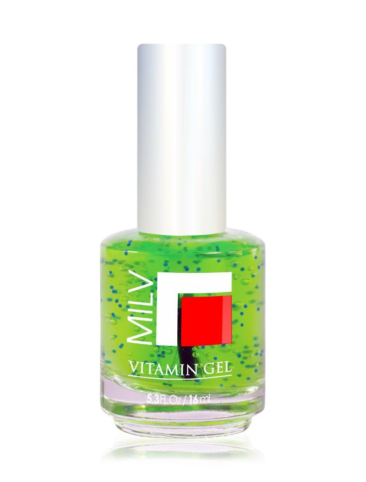 MILV Гель для роста ногтей  Спелое Яблоко  / Vitamin Gel 16мл