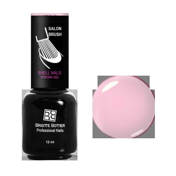 BRIGITTE BOTTIER 911 гель-лак для ногтей & Нежно розовый&  / Shell Nails 12мл -  Гель-лаки