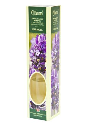 ELFARMA Ароматизатор воздуха с натуральным эфирным маслом Лаванда 50мл