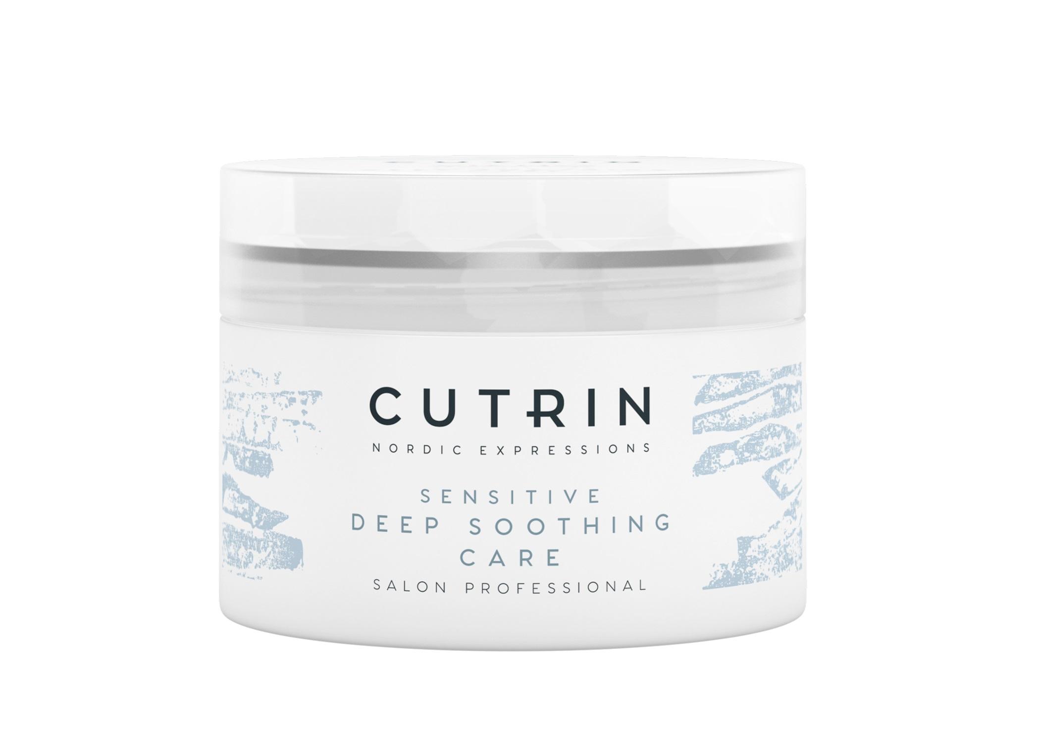 CUTRIN Маска смягчающая для чувствительной кожи головы без отдушки для нормальных и сухих волос / VIENO Deep Soothening Care 150 мл.